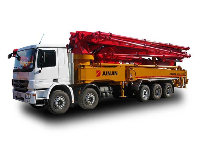 Автобетононасос Jun Jin 52 CS-5, 52 м.