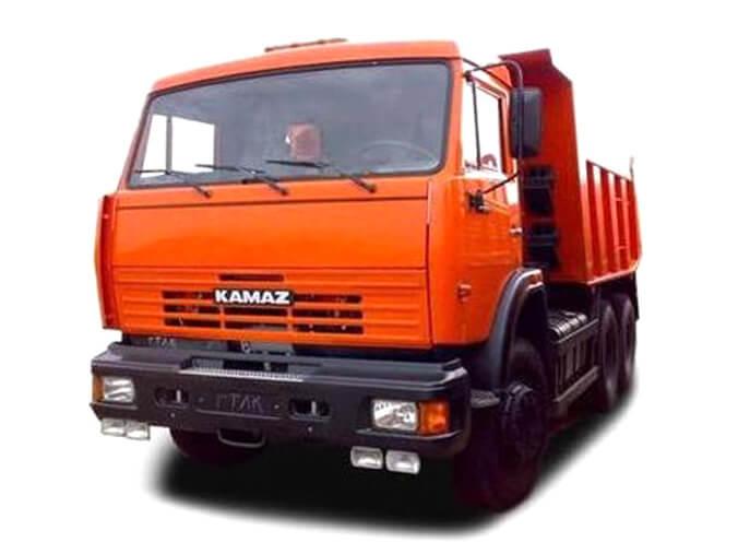 Самосвалы «КАМАЗ», объем кузова 18-20 м³