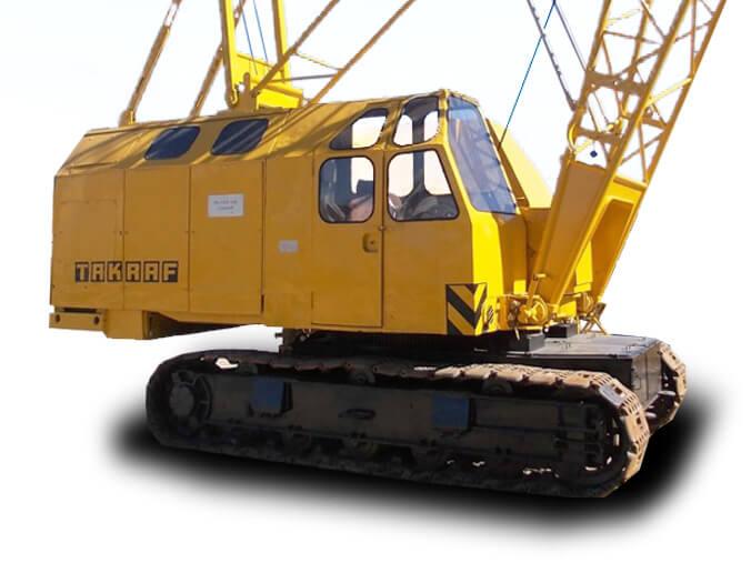Кран монтажный, гусеничный РДК-250, МГК, 25 тонн