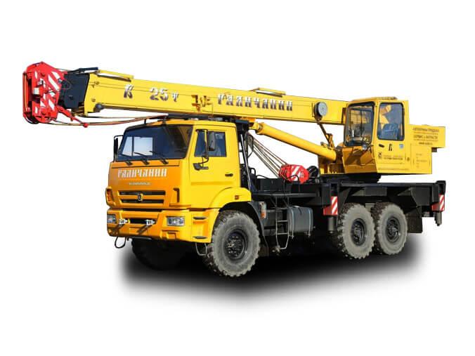 Автокран «Галичанин» 25 тонн