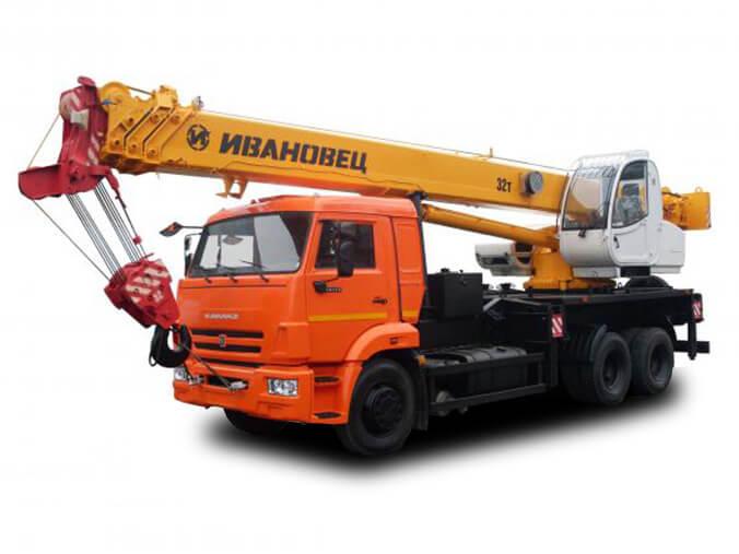 Автокран «Ивановец» 32 тонн (КС5576Б)