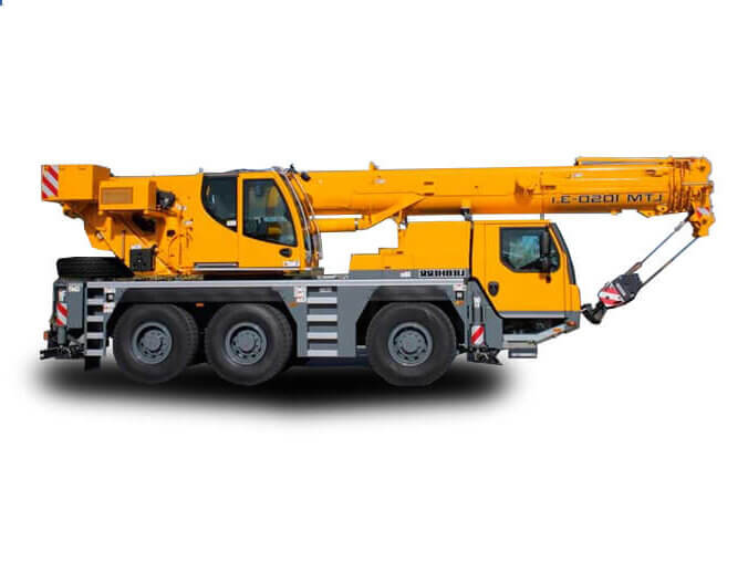 Автокран «Liebherr» 50 тонн