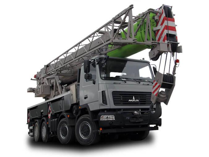 Автокран «МАЗ» 40 тонн