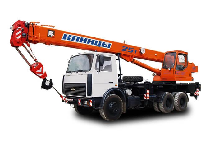 Автокран «Клинцы» 25 тонн